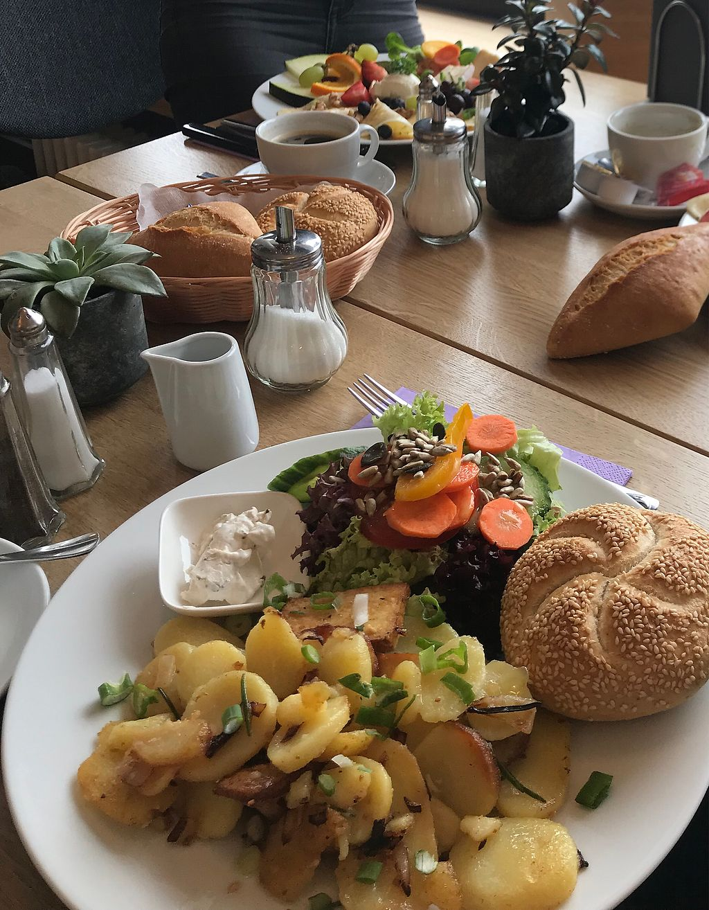 "Photo of Cafe Kongress  by <a href=""/members/profile/ChiaraEndrulat"">ChiaraEndrulat</a> <br/>Breakfast ""Herzhafter Veganer"" <br/> March 18, 2018  - <a href='/contact/abuse/image/114808/372340'>Report</a>"