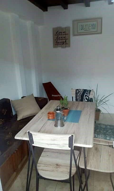 """Photo of Ahimsa Tienda y Cafeteria  by <a href=""""/members/profile/JosteinA"""">JosteinA</a> <br/>Inside <br/> March 19, 2018  - <a href='/contact/abuse/image/114815/372959'>Report</a>"""