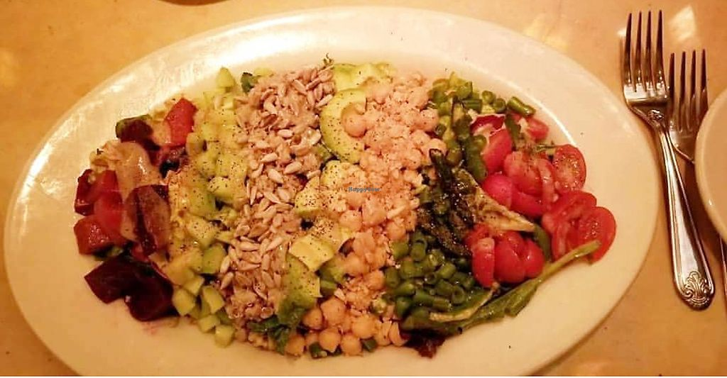"""Photo of The Cheesecake Factory  by <a href=""""/members/profile/AthenaTrombly"""">AthenaTrombly</a> <br/>Vegan Cobb salad  <br/> March 17, 2018  - <a href='/contact/abuse/image/114816/372105'>Report</a>"""
