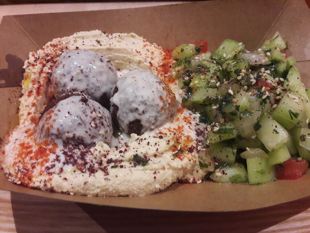 "Photo of Brixton Balls  by <a href=""/members/profile/jennyc32"">jennyc32</a> <br/>Vegan hummus option <br/> March 18, 2018  - <a href='/contact/abuse/image/114822/372590'>Report</a>"