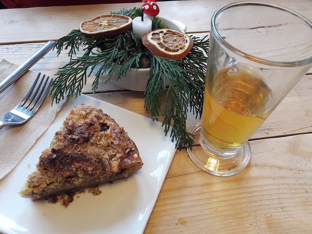 """Photo of Velbekomme Cafe  by <a href=""""/members/profile/jennyc32"""">jennyc32</a> <br/>Vegan cake <br/> March 18, 2018  - <a href='/contact/abuse/image/114836/372588'>Report</a>"""