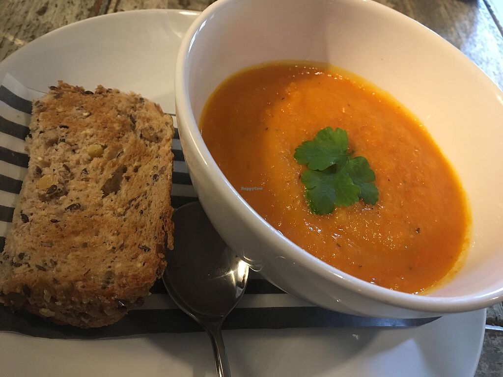 """Photo of The Oat Sheaf  by <a href=""""/members/profile/kasakaa"""">kasakaa</a> <br/>Soup (starter) <br/> April 8, 2018  - <a href='/contact/abuse/image/114845/382513'>Report</a>"""