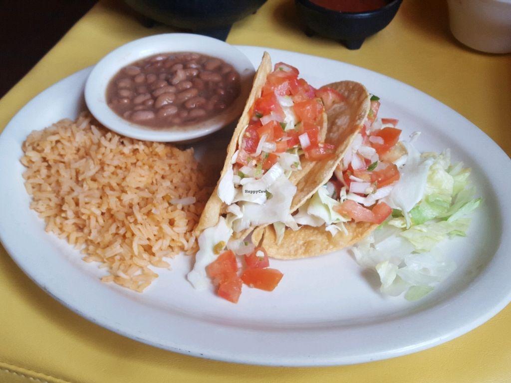"Photo of Habanero's Fresh Mex  by <a href=""/members/profile/satrn4lulu"">satrn4lulu</a> <br/>vegan potato taco plate <br/> April 9, 2018  - <a href='/contact/abuse/image/114881/383072'>Report</a>"