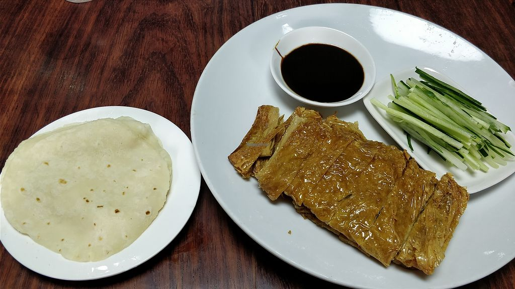 """Photo of Haozizai  by <a href=""""/members/profile/ultm8"""">ultm8</a> <br/>Vegetarian Peking Duck <br/> March 21, 2018  - <a href='/contact/abuse/image/114896/373596'>Report</a>"""