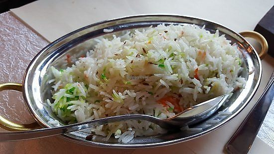 """Photo of Welkom India  by <a href=""""/members/profile/community5"""">community5</a> <br/>Vegetable rice <br/> March 30, 2018  - <a href='/contact/abuse/image/114921/378516'>Report</a>"""