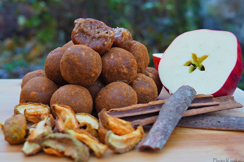 """Photo of Rawsmary  by <a href=""""/members/profile/Martinkaaa"""">Martinkaaa</a> <br/>Raw Vegan Apple & Cinnamon Truffles <br/> March 19, 2018  - <a href='/contact/abuse/image/114962/372964'>Report</a>"""
