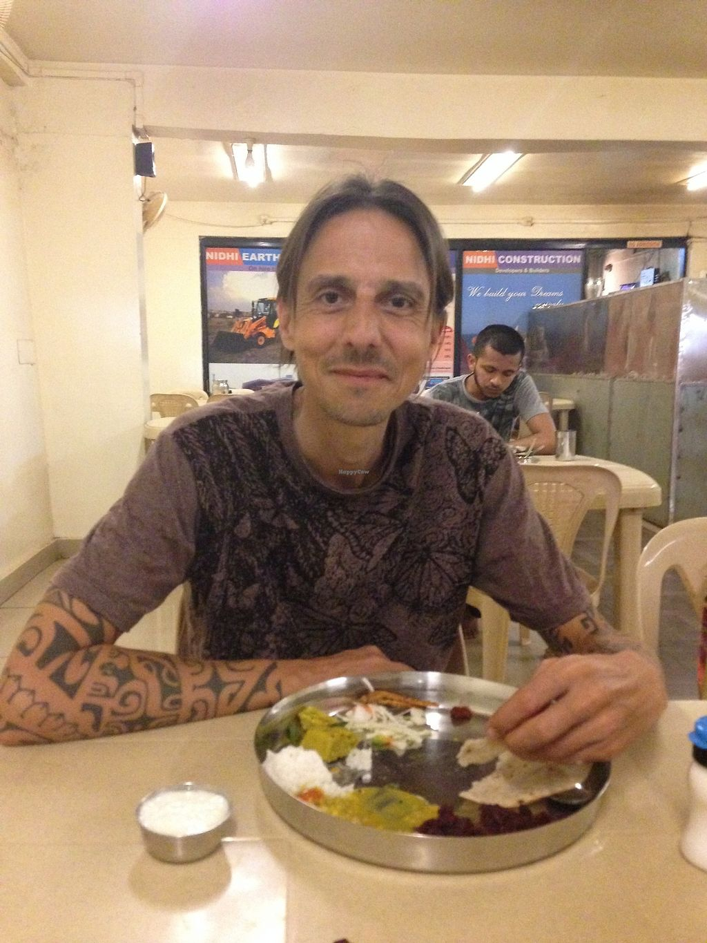 """Photo of Lalit Dining  by <a href=""""/members/profile/LobkeBrasseur"""">LobkeBrasseur</a> <br/>Delicious thali  <br/> March 20, 2018  - <a href='/contact/abuse/image/115006/373190'>Report</a>"""