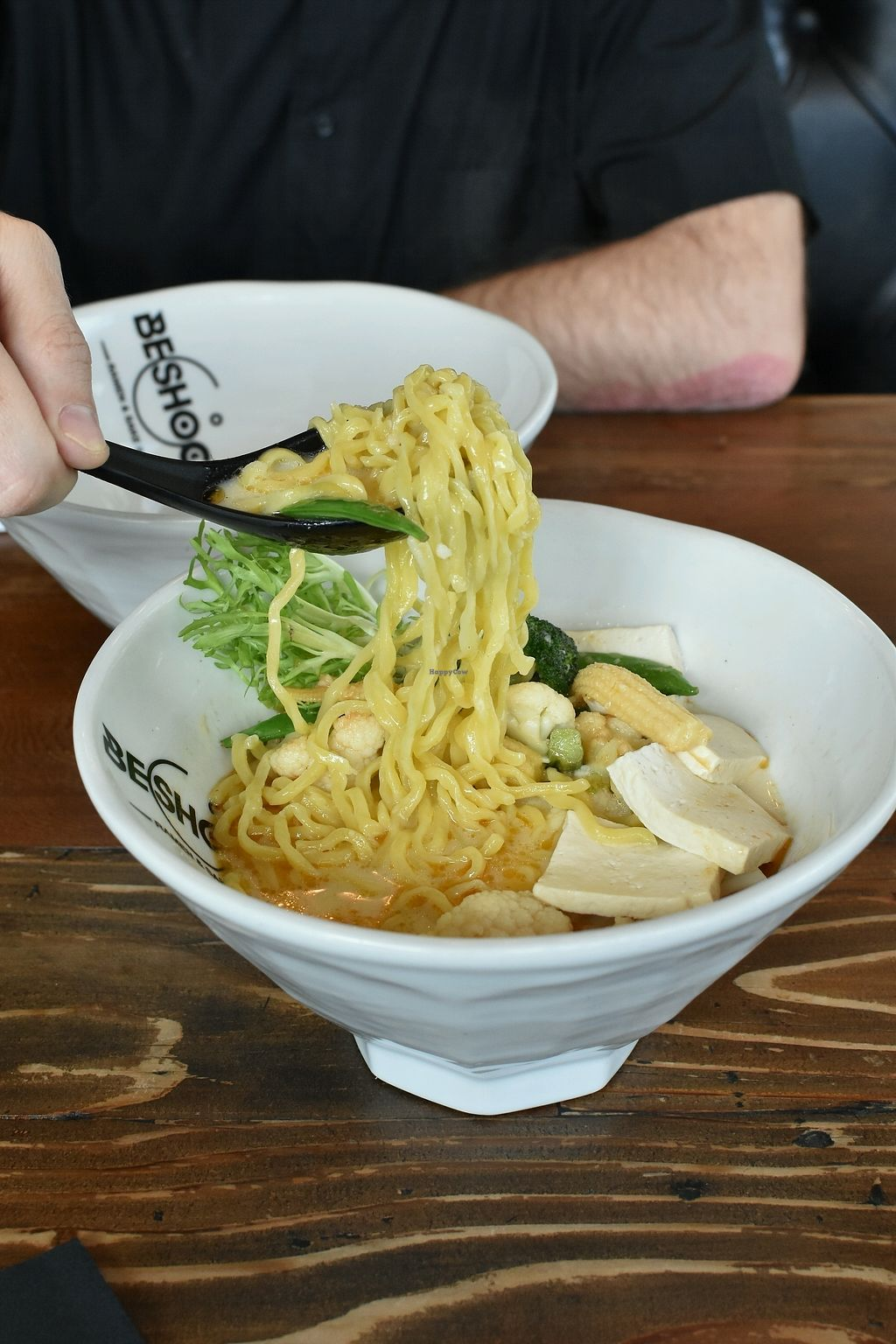 "Photo of Beshock Ramen  by <a href=""/members/profile/KellyBone"">KellyBone</a> <br/>vegan chubby noodles  <br/> March 22, 2018  - <a href='/contact/abuse/image/115040/374246'>Report</a>"