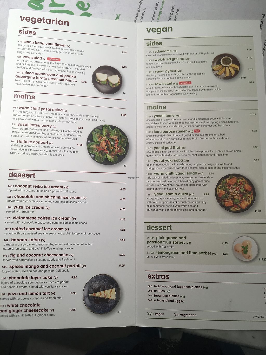"Photo of Wagamama - Gatwick Airport  by <a href=""/members/profile/mettepalludan"">mettepalludan</a> <br/>Menu <br/> March 20, 2018  - <a href='/contact/abuse/image/115048/373379'>Report</a>"