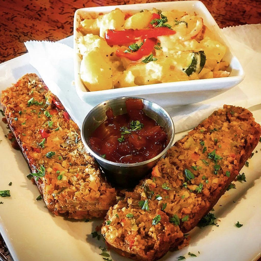 """Photo of Thornapple Brewing Company  by <a href=""""/members/profile/Thera-Awakening"""">Thera-Awakening</a> <br/>Lentil Loaf <br/> March 21, 2018  - <a href='/contact/abuse/image/115075/373576'>Report</a>"""