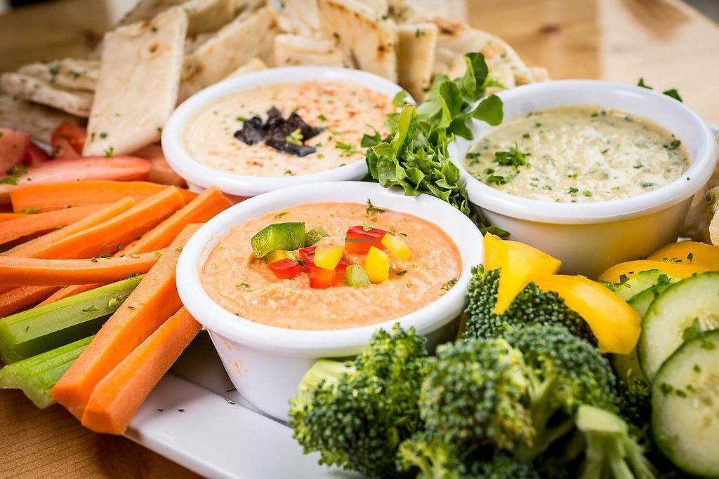 """Photo of Thornapple Brewing Company  by <a href=""""/members/profile/Thera-Awakening"""">Thera-Awakening</a> <br/>Hummus plate <br/> March 21, 2018  - <a href='/contact/abuse/image/115075/373577'>Report</a>"""