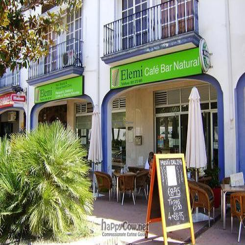 """Photo of Elemi Cafe Bar Bistro Vegetariano  by <a href=""""/members/profile/Jo%20Kay"""">Jo Kay</a> <br/>Elemi Cafe with their beauty salon next door <br/> August 23, 2009  - <a href='/contact/abuse/image/11512/2490'>Report</a>"""