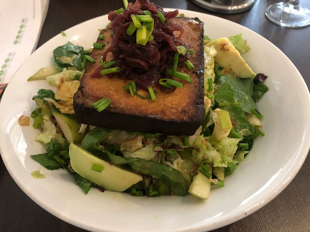 """Photo of Elemi Cafe Bar Bistro Vegetariano  by <a href=""""/members/profile/lapev"""">lapev</a> <br/>Tofu salad  <br/> March 23, 2018  - <a href='/contact/abuse/image/11512/374898'>Report</a>"""