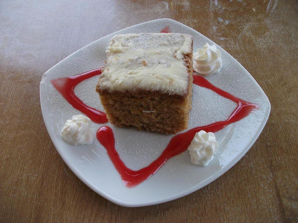 "Photo of Elemi Cafe Bar Bistro Vegetariano  by <a href=""/members/profile/Jolanda1"">Jolanda1</a> <br/>Lemon Cake <br/> November 8, 2014  - <a href='/contact/abuse/image/11512/84997'>Report</a>"