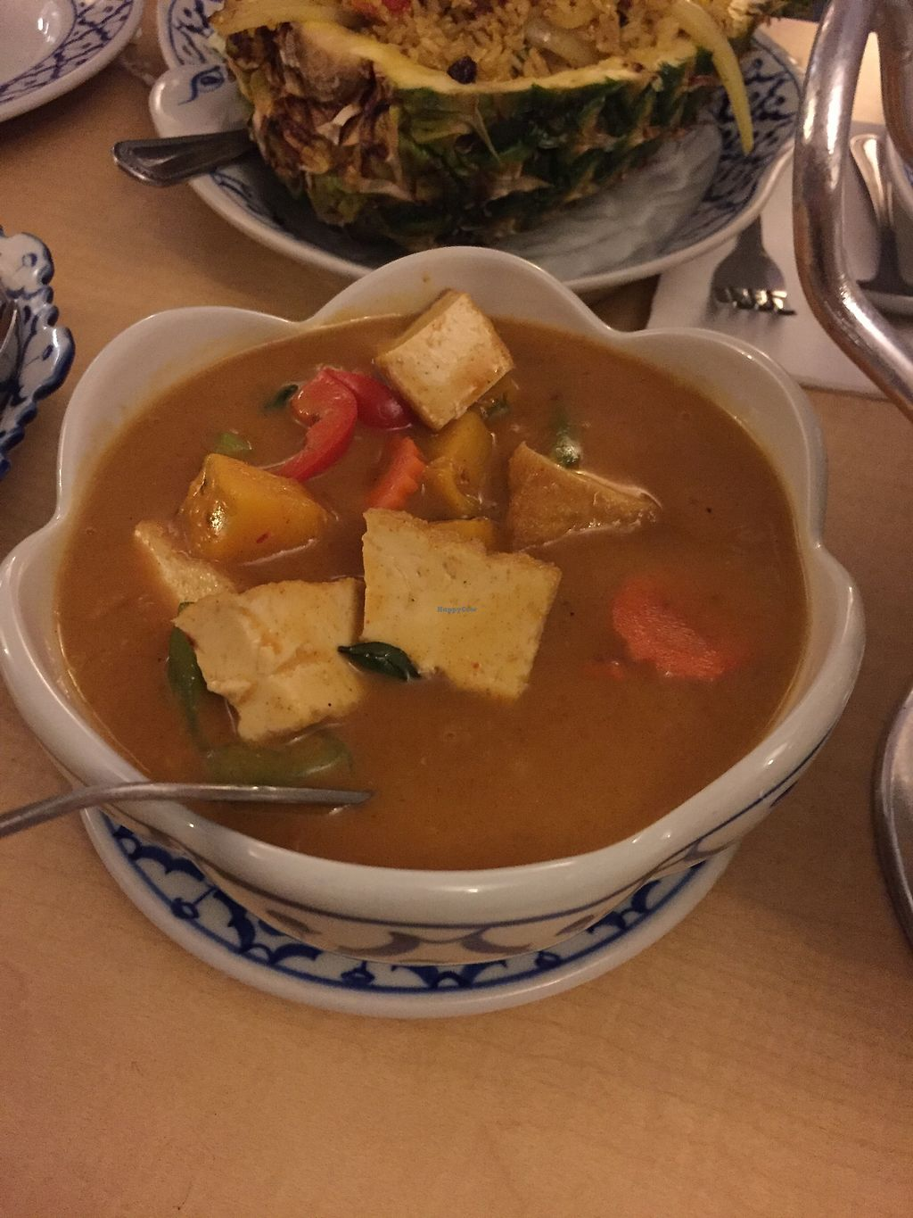 """Photo of Thai House  by <a href=""""/members/profile/Bariann"""">Bariann</a> <br/>Pumpkin Curry with Tofu <br/> March 21, 2018  - <a href='/contact/abuse/image/115141/373519'>Report</a>"""