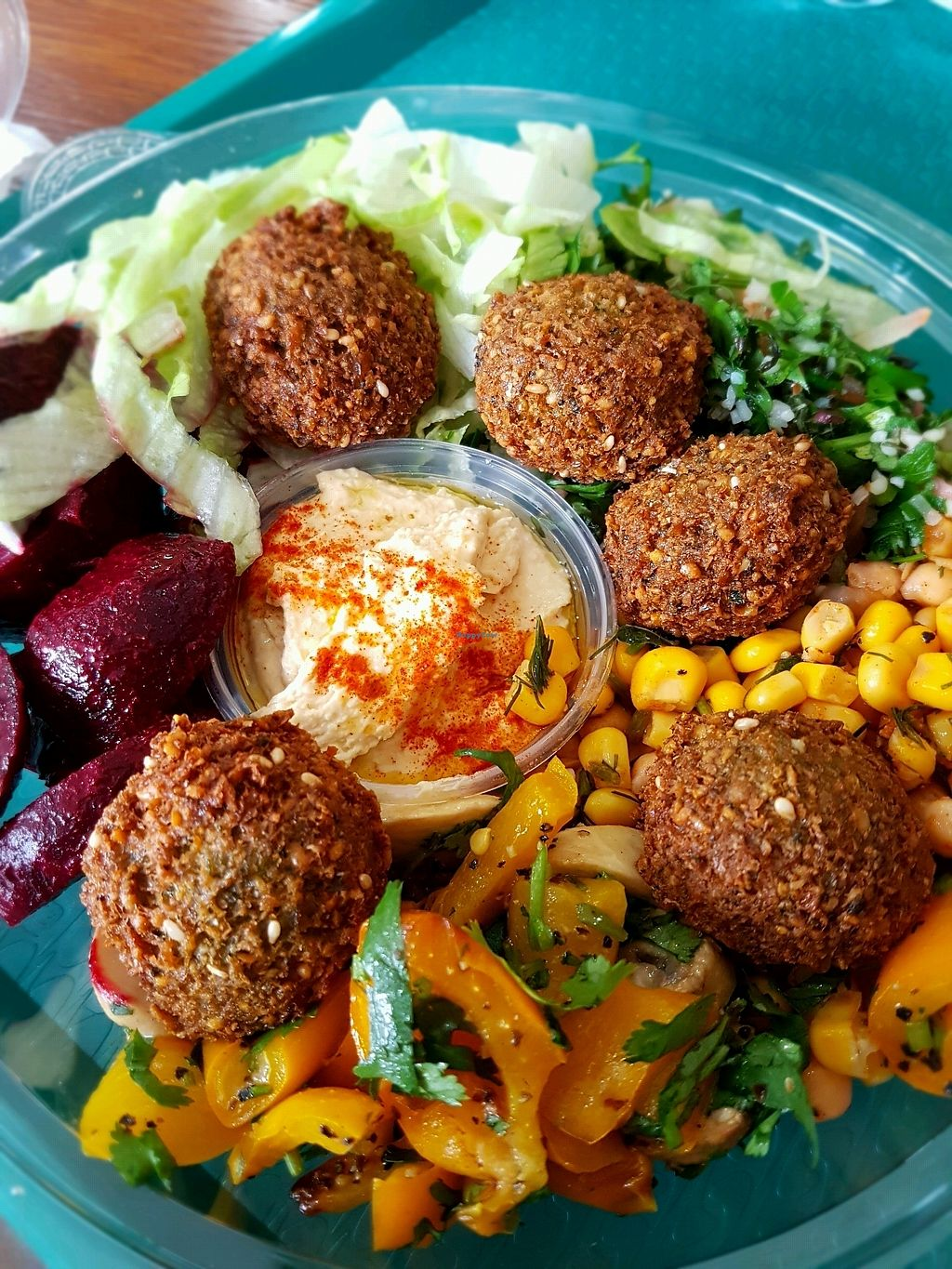 "Photo of Go Falafel  by <a href=""/members/profile/Hoggy"">Hoggy</a> <br/>Falafel Lunch Box <br/> March 30, 2018  - <a href='/contact/abuse/image/115163/378259'>Report</a>"
