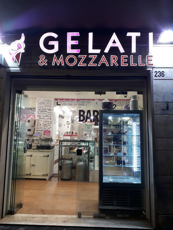 """Photo of Gelati e Mozzarella  by <a href=""""/members/profile/ViolaceousViolin"""">ViolaceousViolin</a> <br/>Entrance <br/> March 22, 2018  - <a href='/contact/abuse/image/115195/374114'>Report</a>"""