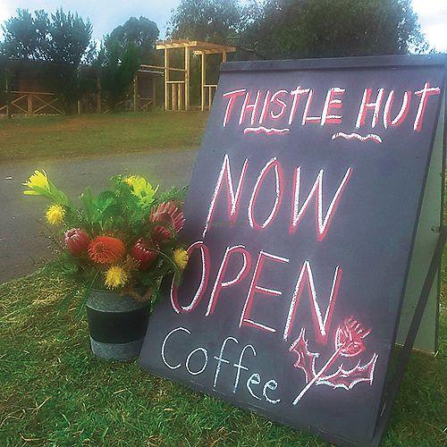 """Photo of Thistle Hut  by <a href=""""/members/profile/karlaess"""">karlaess</a> <br/>exterior <br/> March 22, 2018  - <a href='/contact/abuse/image/115199/374082'>Report</a>"""