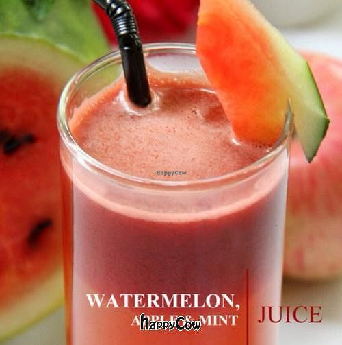 """Photo of CLOSED: The Terrace on 95 - K'NYAY  by <a href=""""/members/profile/chillin"""">chillin</a> <br/>watermelon, apple & mint juice <br/> June 14, 2013  - <a href='/contact/abuse/image/11520/49583'>Report</a>"""