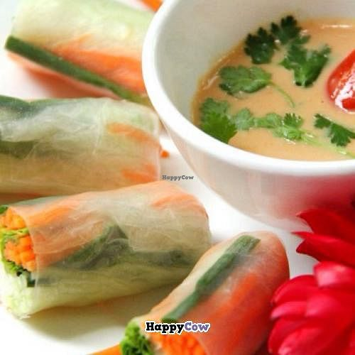 """Photo of CLOSED: The Terrace on 95 - K'NYAY  by <a href=""""/members/profile/KNYAY"""">KNYAY</a> <br/>K'NYAY fresh spring rolls <br/> September 6, 2013  - <a href='/contact/abuse/image/11520/54541'>Report</a>"""