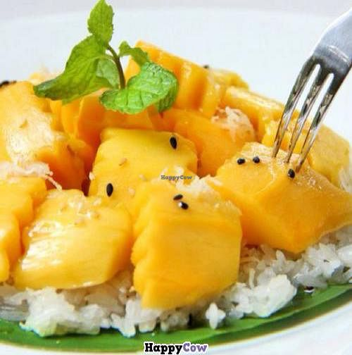 """Photo of CLOSED: The Terrace on 95 - K'NYAY  by <a href=""""/members/profile/KNYAY"""">KNYAY</a> <br/>K'NYAY sticky rice with sweet mango <br/> September 6, 2013  - <a href='/contact/abuse/image/11520/54546'>Report</a>"""