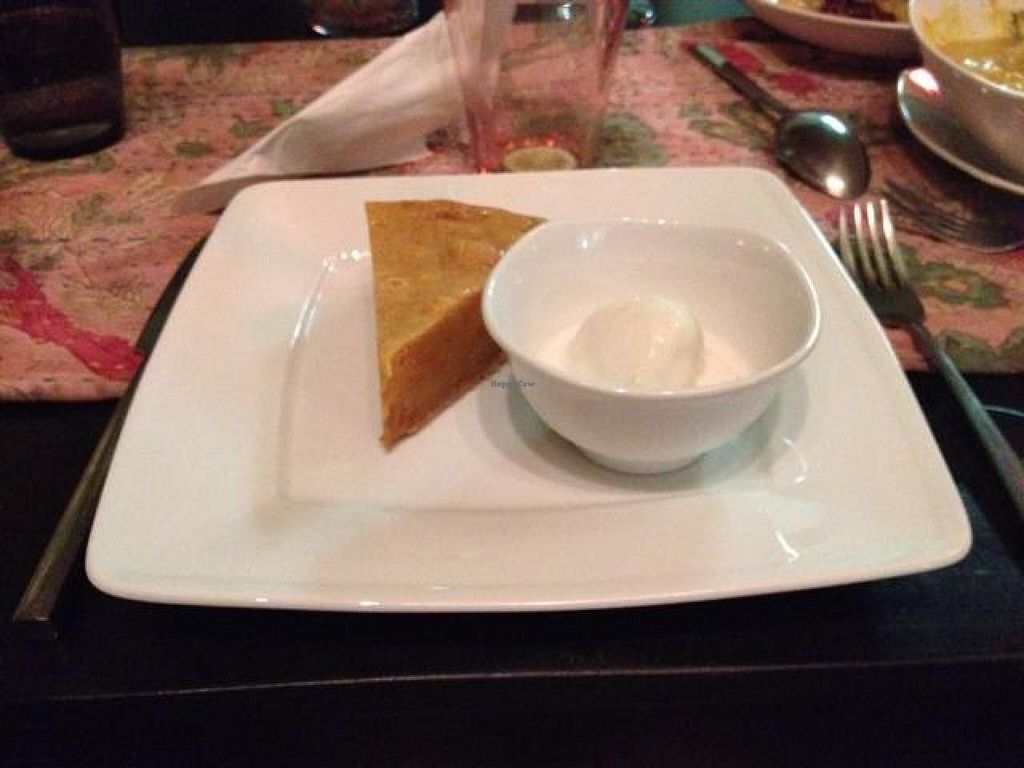 """Photo of CLOSED: The Terrace on 95 - K'NYAY  by <a href=""""/members/profile/tauberl"""">tauberl</a> <br/>ginger coconut ice cream and carrot cake <br/> March 25, 2014  - <a href='/contact/abuse/image/11520/66550'>Report</a>"""
