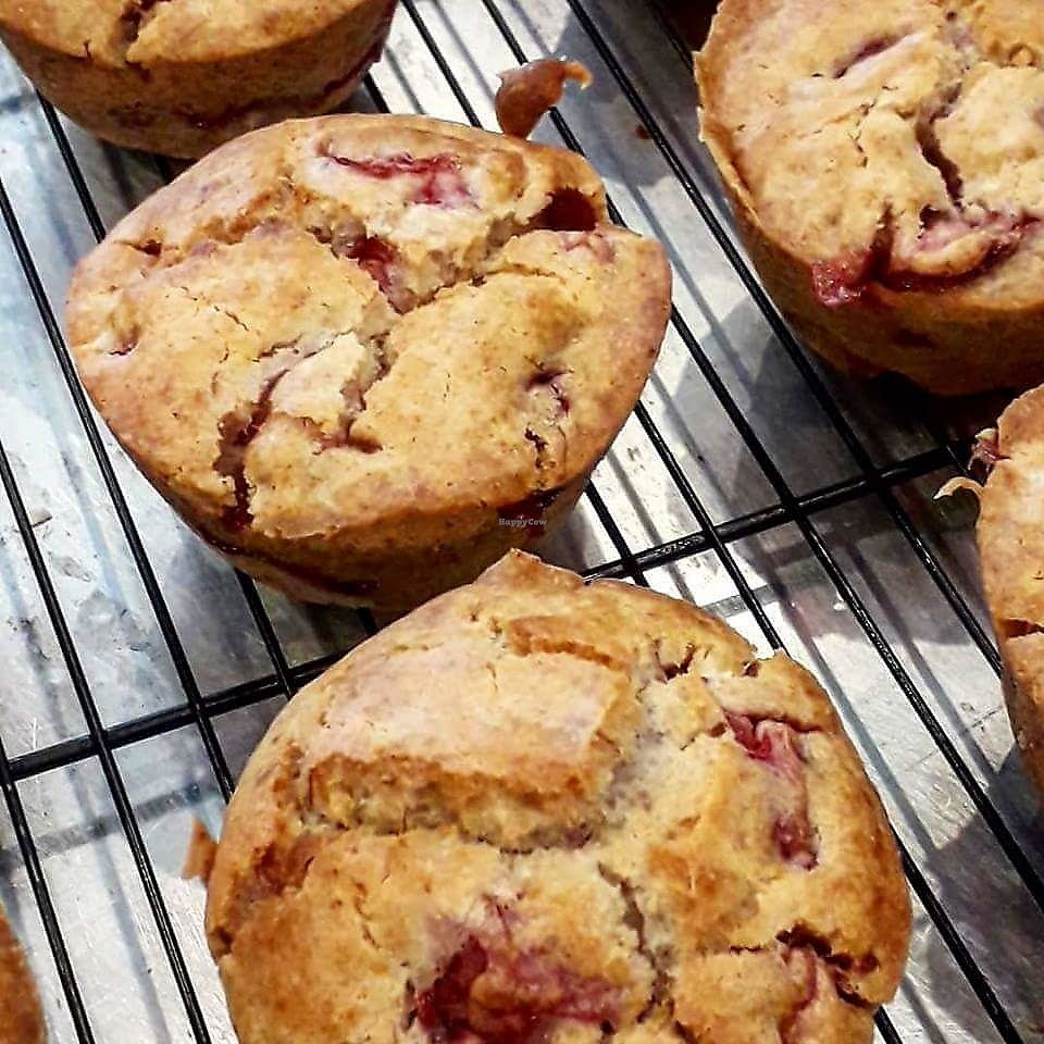 """Photo of Lizy's Kitchen  by <a href=""""/members/profile/nearlythere"""">nearlythere</a> <br/>Strawberry banana V-GF muffin <br/> March 25, 2018  - <a href='/contact/abuse/image/115227/375953'>Report</a>"""