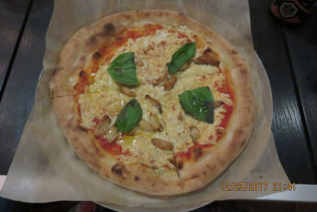 "Photo of Pizza Rox  by <a href=""/members/profile/tracyrocks"">tracyrocks</a> <br/>vegan cheese pizza <br/> March 21, 2018  - <a href='/contact/abuse/image/115243/374029'>Report</a>"