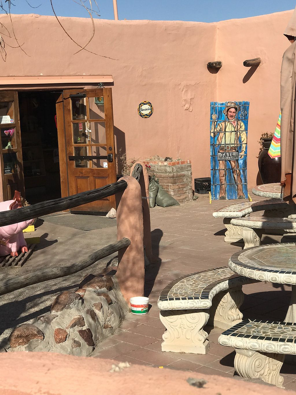 """Photo of Cafe de Mesilla  by <a href=""""/members/profile/avascott"""">avascott</a> <br/>Fun atmosphere  <br/> April 4, 2018  - <a href='/contact/abuse/image/115244/380853'>Report</a>"""