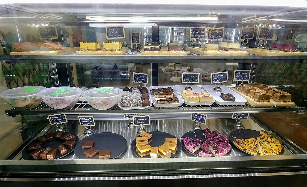 """Photo of Back2Nature Cafe  by <a href=""""/members/profile/karlaess"""">karlaess</a> <br/>Raw vegan sweet treats <br/> March 24, 2018  - <a href='/contact/abuse/image/115263/375200'>Report</a>"""