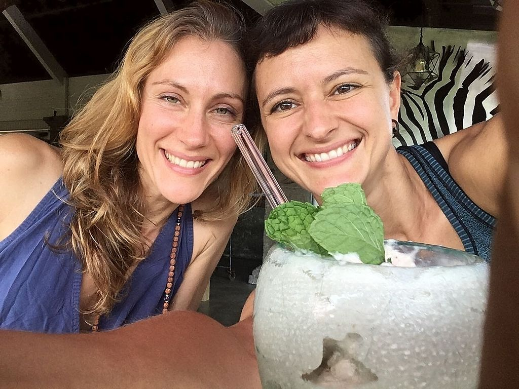 """Photo of Zest Ubud  by <a href=""""/members/profile/HelenaKober"""">HelenaKober</a> <br/>Durian smoothie tastes even better when shared :) <br/> April 2, 2018  - <a href='/contact/abuse/image/115319/379698'>Report</a>"""