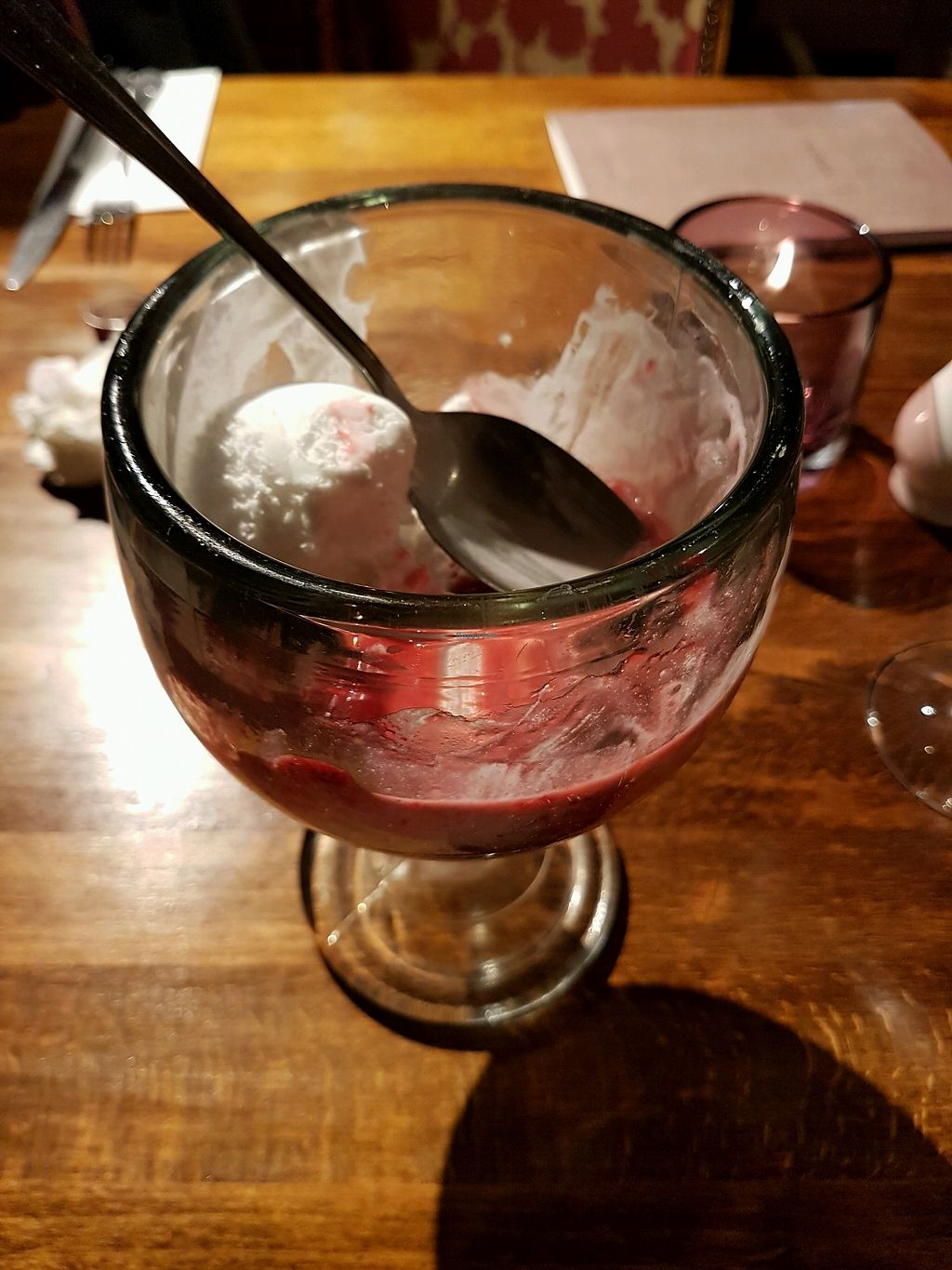"""Photo of Poplar Farm  by <a href=""""/members/profile/Daxw"""">Daxw</a> <br/>coconut sorbet pudding <br/> March 23, 2018  - <a href='/contact/abuse/image/115334/374959'>Report</a>"""