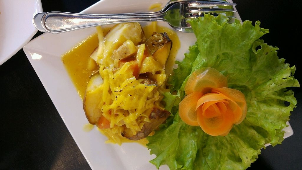 """Photo of iVegan - Nha Hang Thuan Chay  by <a href=""""/members/profile/Jon_Hesby"""">Jon_Hesby</a> <br/>Jacket potato curry <br/> April 10, 2018  - <a href='/contact/abuse/image/115335/383209'>Report</a>"""