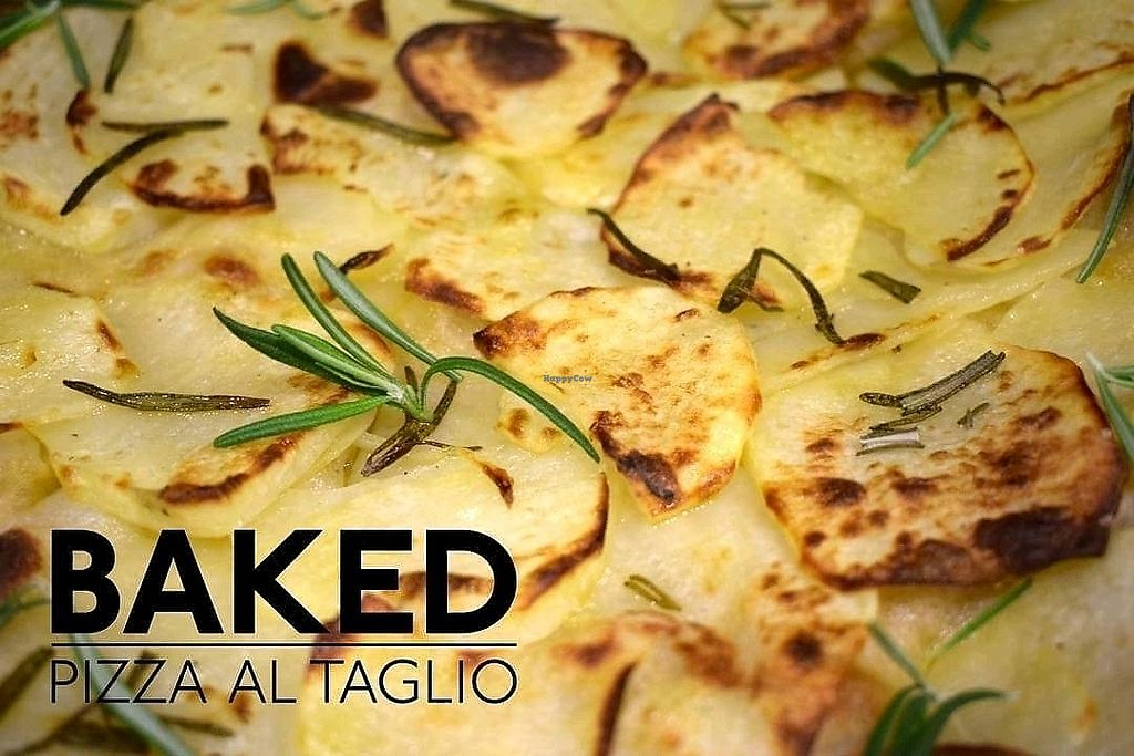 """Photo of Baked Pizza Al Taglio   by <a href=""""/members/profile/DafniBechtsi"""">DafniBechtsi</a> <br/>potato & rosemary pizza  <br/> April 2, 2018  - <a href='/contact/abuse/image/115370/379923'>Report</a>"""