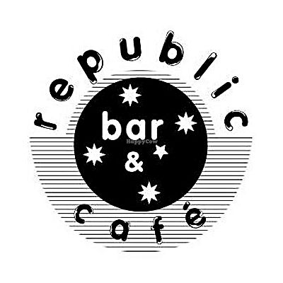 """Photo of Republic Bar & Cafe  by <a href=""""/members/profile/karlaess"""">karlaess</a> <br/>republic logo <br/> March 24, 2018  - <a href='/contact/abuse/image/115414/375105'>Report</a>"""