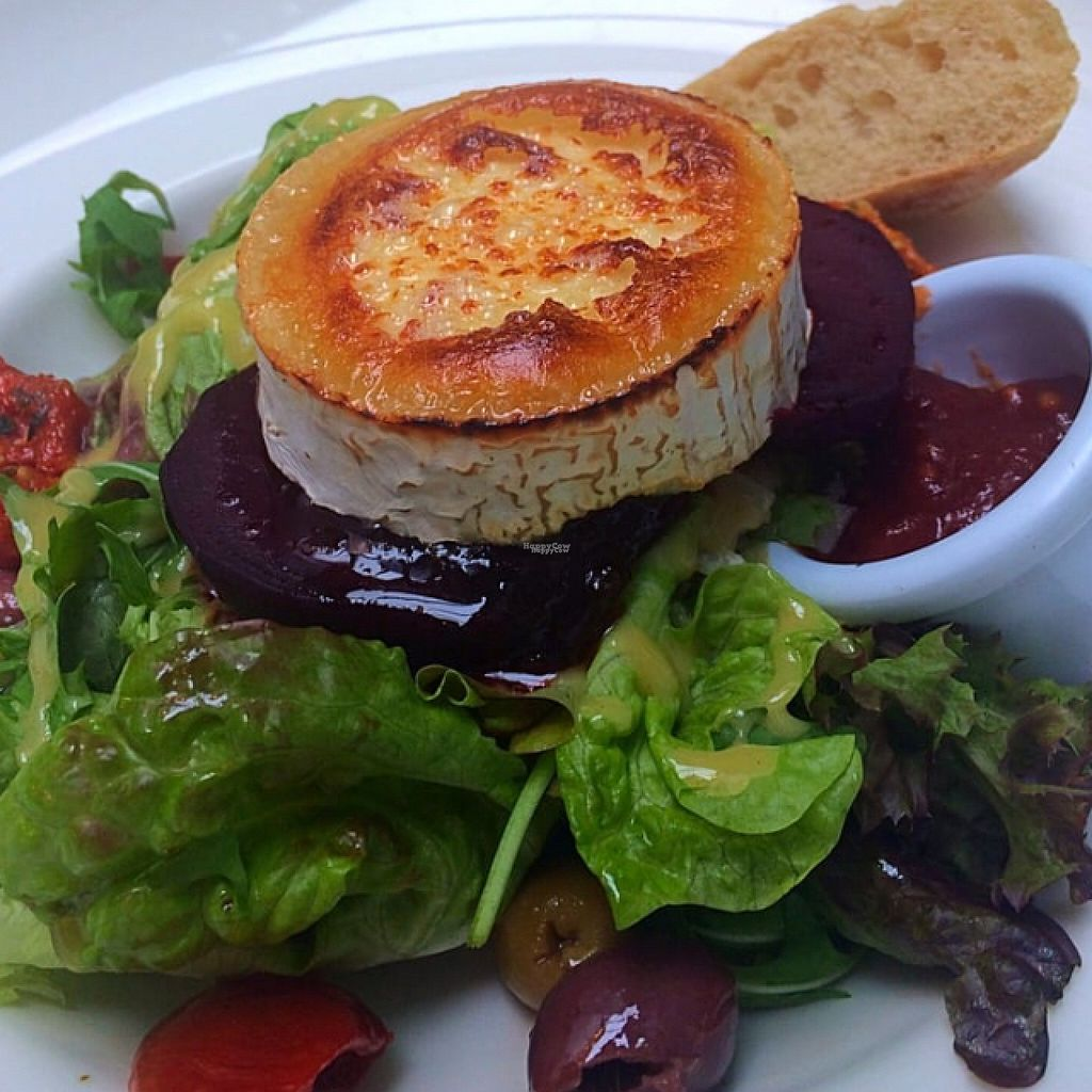 """Photo of Soul Food  by <a href=""""/members/profile/CiaraSlevin"""">CiaraSlevin</a> <br/>vegetarian goats cheese salad  <br/> August 21, 2016  - <a href='/contact/abuse/image/11544/170518'>Report</a>"""