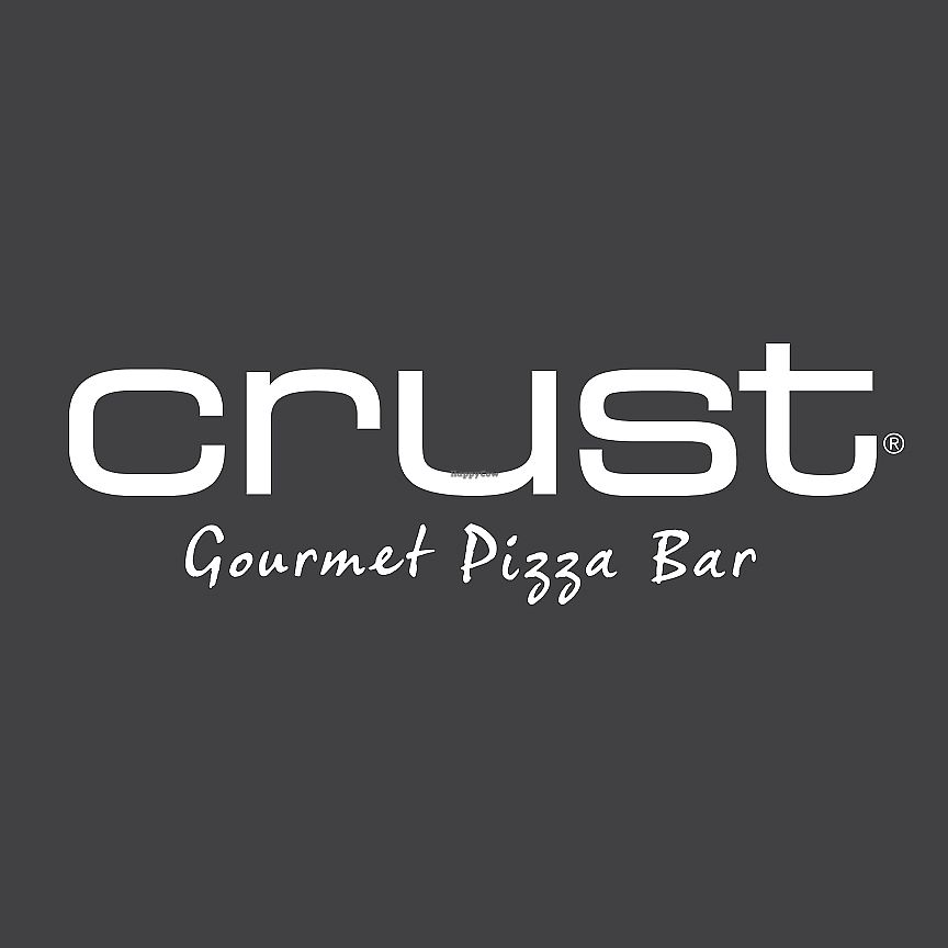 """Photo of Crust Gourmet Pizza Bar    by <a href=""""/members/profile/karlaess"""">karlaess</a> <br/>logo <br/> March 24, 2018  - <a href='/contact/abuse/image/115499/375544'>Report</a>"""