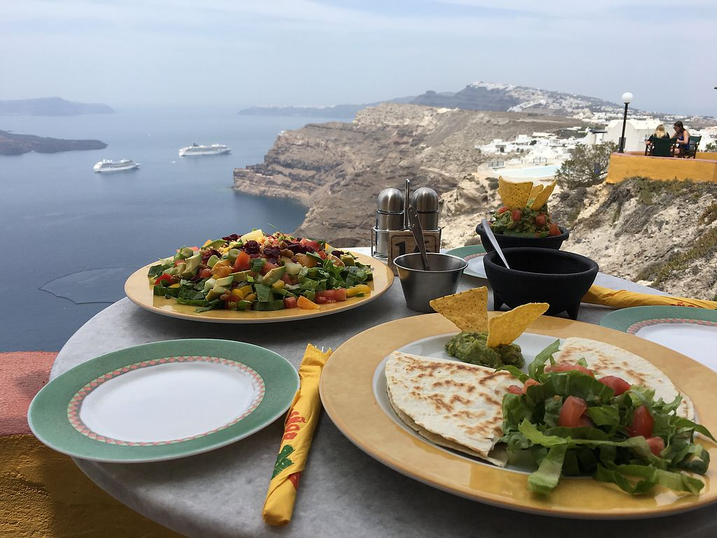 """Photo of Senor Zorbas  by <a href=""""/members/profile/HappyVegantChick"""">HappyVegantChick</a> <br/>Our lunch and view on the bay <br/> May 23, 2018  - <a href='/contact/abuse/image/11551/403713'>Report</a>"""