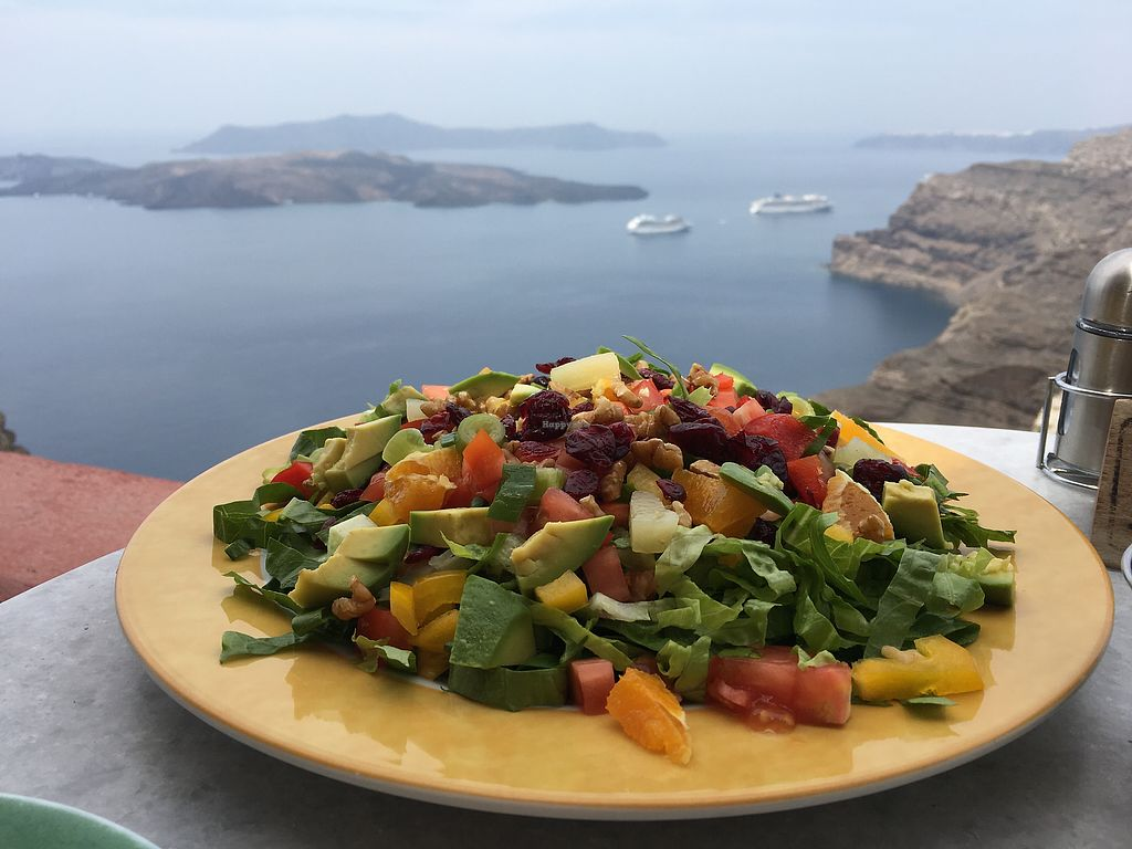 """Photo of Senor Zorbas  by <a href=""""/members/profile/HappyVegantChick"""">HappyVegantChick</a> <br/>Mexican salad <br/> May 23, 2018  - <a href='/contact/abuse/image/11551/403714'>Report</a>"""