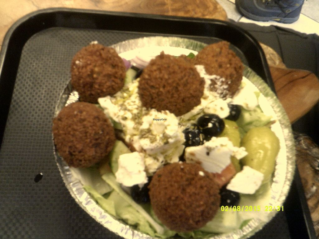 "Photo of Falafel Manie  by <a href=""/members/profile/ChristianLajoie"">ChristianLajoie</a> <br/>Assiette grecque <br/> March 27, 2018  - <a href='/contact/abuse/image/115540/376995'>Report</a>"