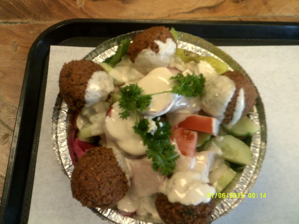 "Photo of Falafel Manie  by <a href=""/members/profile/ChristianLajoie"">ChristianLajoie</a> <br/>Assiette classique libannaise <br/> March 27, 2018  - <a href='/contact/abuse/image/115540/376996'>Report</a>"