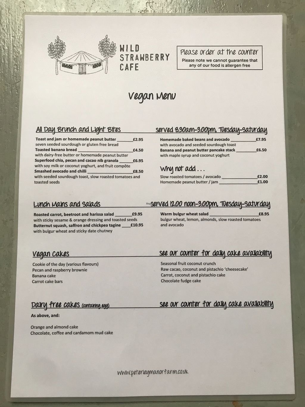 """Photo of Wild Strawberry Cafe  by <a href=""""/members/profile/Shelleyb123"""">Shelleyb123</a> <br/>Vegan menu! Breakfast, brunch, lunch and sweet options!  <br/> April 3, 2018  - <a href='/contact/abuse/image/115559/380090'>Report</a>"""