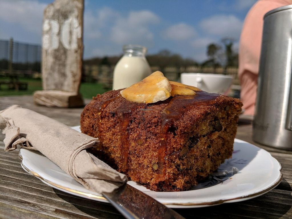 """Photo of Wild Strawberry Cafe  by <a href=""""/members/profile/Danmiddleton"""">Danmiddleton</a> <br/>Vegan banana cake  <br/> April 15, 2018  - <a href='/contact/abuse/image/115559/386491'>Report</a>"""