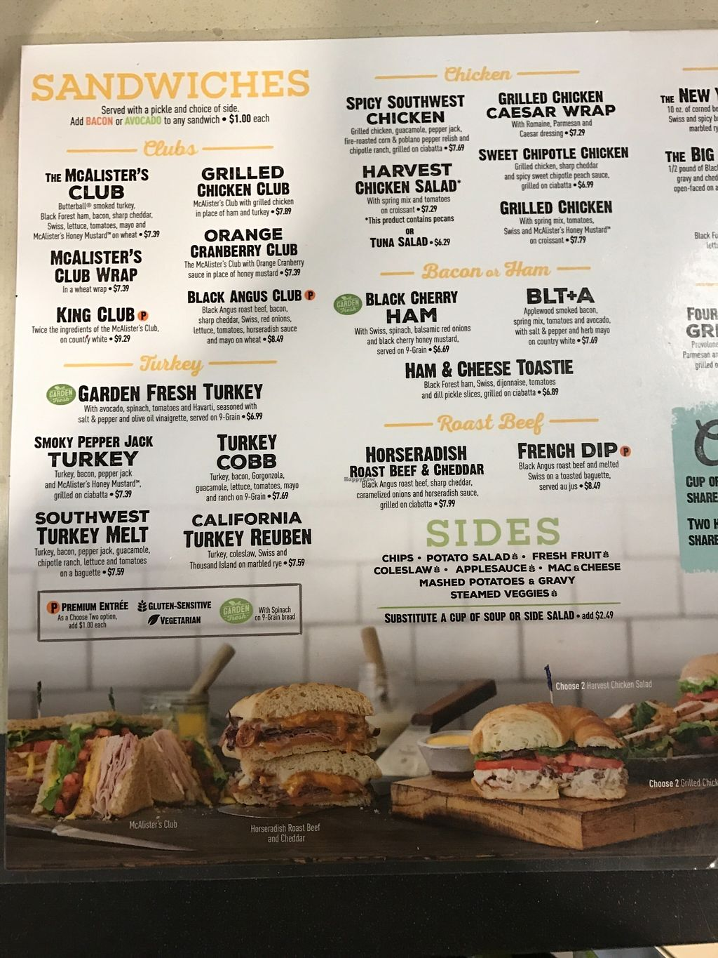 """Photo of McAlister's Deli  by <a href=""""/members/profile/Mmaynard18"""">Mmaynard18</a> <br/>Vegan soup option that's not listed on menu <br/> March 25, 2018  - <a href='/contact/abuse/image/115590/375920'>Report</a>"""