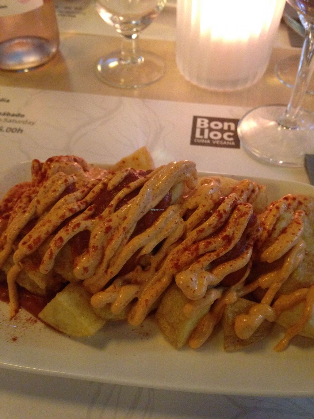 """Photo of Bon Lloc  by <a href=""""/members/profile/polos09"""">polos09</a> <br/>spicy potato starter <br/> July 9, 2017  - <a href='/contact/abuse/image/1155/278352'>Report</a>"""