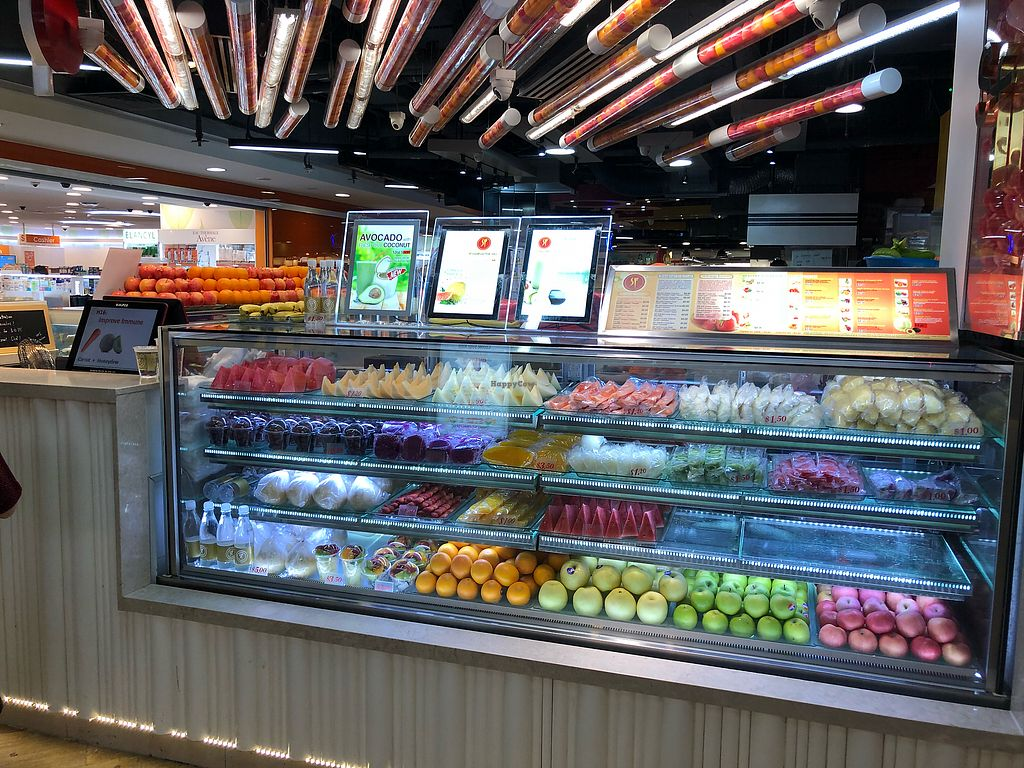 """Photo of SF Fruits & Juices - Causeway Point  by <a href=""""/members/profile/CherylQuincy"""">CherylQuincy</a> <br/>Shop front <br/> March 29, 2018  - <a href='/contact/abuse/image/115631/377628'>Report</a>"""