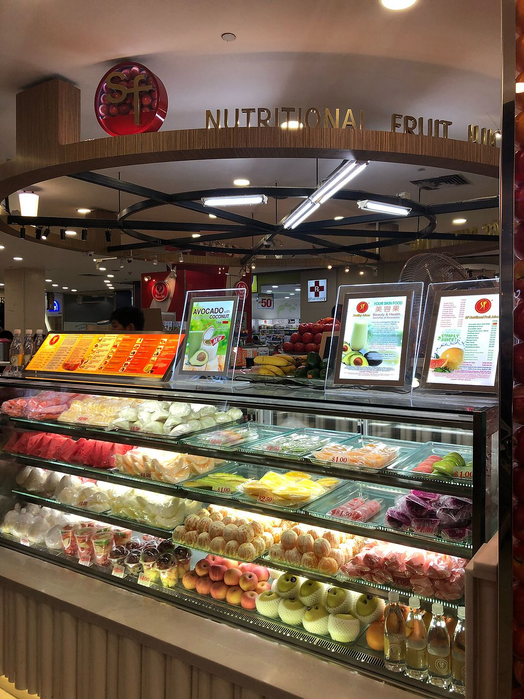 """Photo of SF Fruits & Juices - YewTee Point  by <a href=""""/members/profile/AmyLeySzeThoo"""">AmyLeySzeThoo</a> <br/>Stall front <br/> April 11, 2018  - <a href='/contact/abuse/image/115634/383657'>Report</a>"""