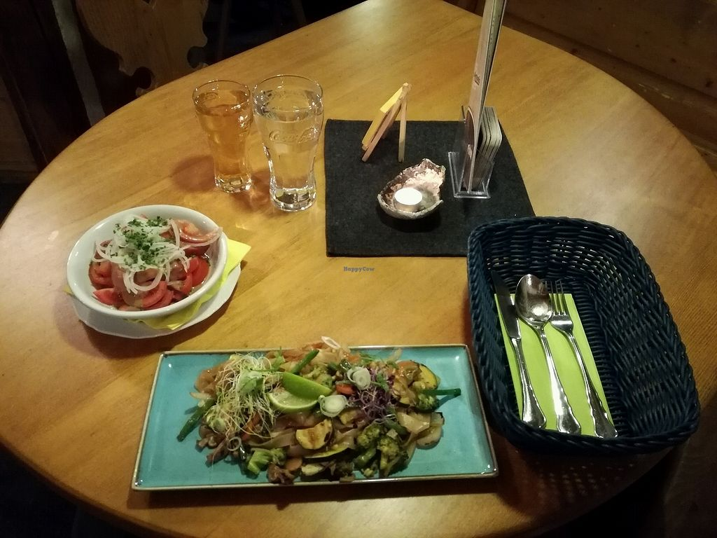 """Photo of Pizzeria San Antonio  by <a href=""""/members/profile/happytourist"""">happytourist</a> <br/>my vegan choice :-) was delicious <br/> April 10, 2018  - <a href='/contact/abuse/image/115682/383458'>Report</a>"""