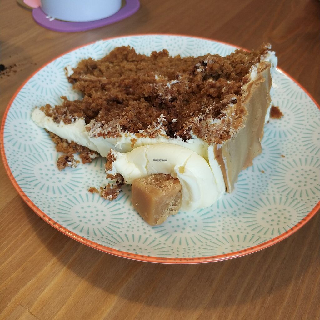 """Photo of Meow Cafe  by <a href=""""/members/profile/madhatterspantry"""">madhatterspantry</a> <br/>Toffee Fudge Cake <br/> April 15, 2018  - <a href='/contact/abuse/image/115728/386254'>Report</a>"""