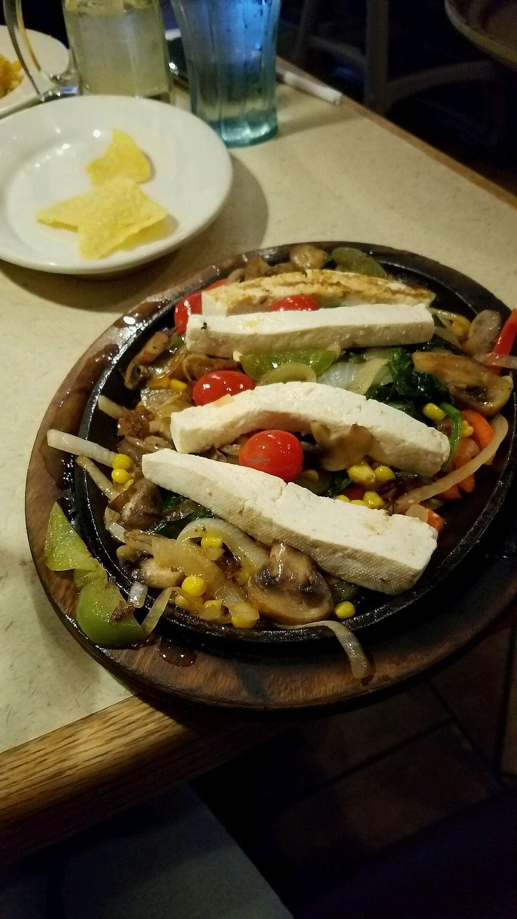 "Photo of La Parrilla Mexican Restaurant  by <a href=""/members/profile/rachelgirl8"">rachelgirl8</a> <br/>tofu fajitas <br/> March 30, 2018  - <a href='/contact/abuse/image/115744/378496'>Report</a>"
